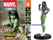 Marvel Fact Files She-Hulk Special With Figurine Eaglemoss